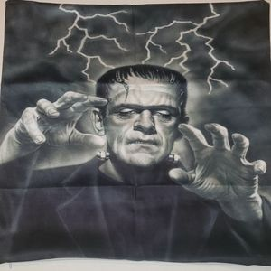Frankenstein throw pillow cover 17×17 new